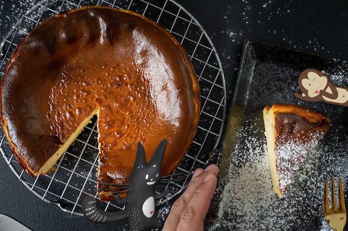 Gâteau au fromage brûlé Cat & The Fiddle