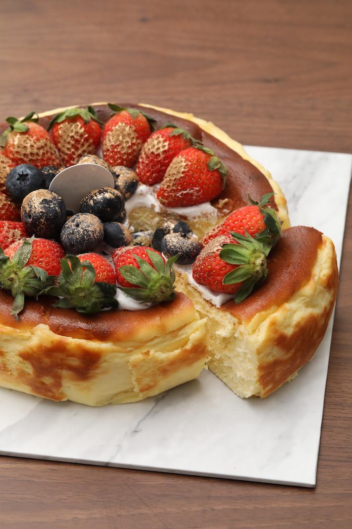 Gâteau au fromage basque brûlé avec amour