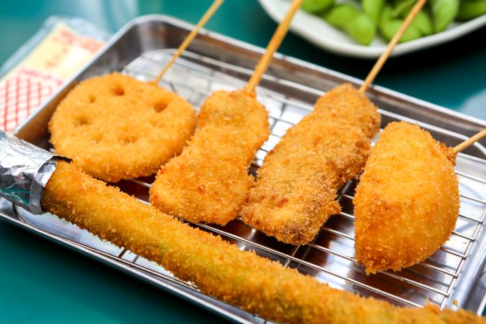 Brochettes Kushikatsu Tanaka