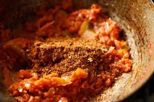 ajouter le sol kadai masala