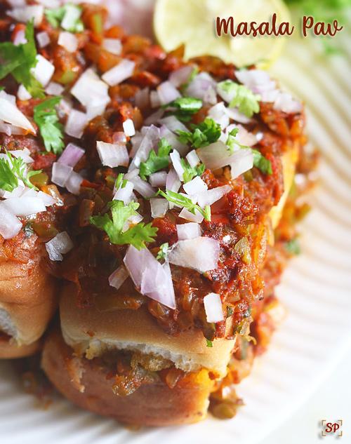 recette de masala pav
