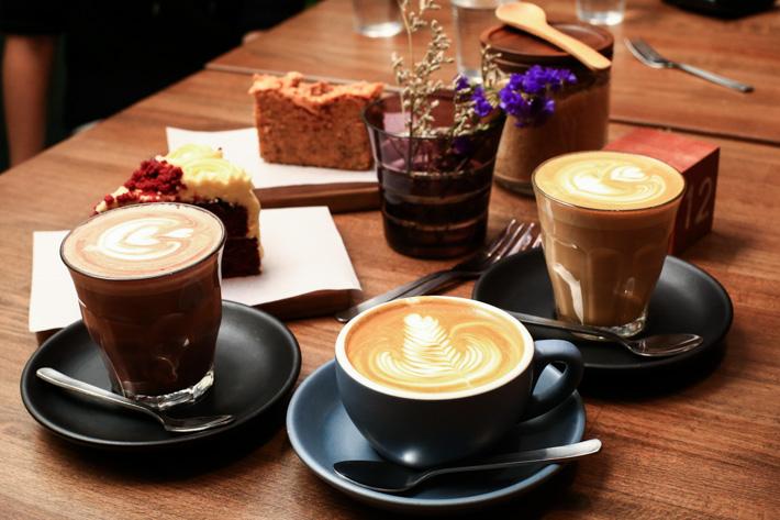 Café de la colonie hollandaise