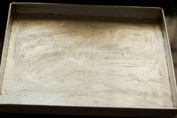 plateau pour recette de nankhatai de blé entier