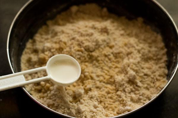 recette de lait pour nankhatai de blé entier