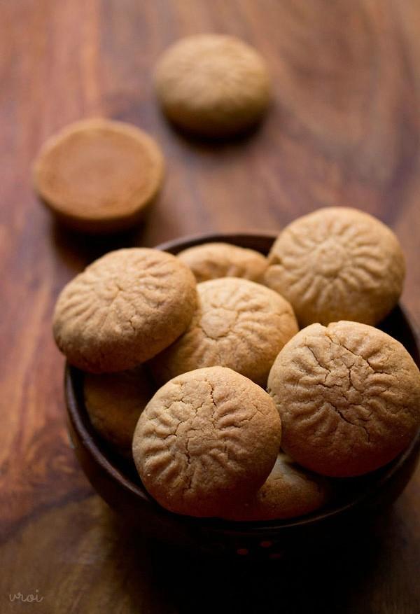 recette facile de nankhatai de blé entier