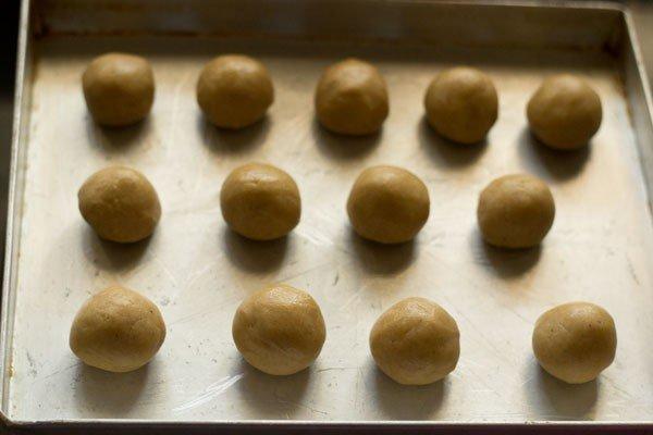 pâte pour recette de nankhatai de blé entier