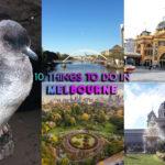 10 choses à faire à Melbourne