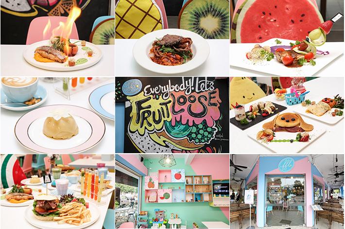 Café Pastel Lab Fruits Frais