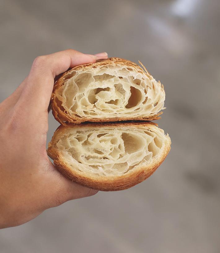croissant petit pain classique