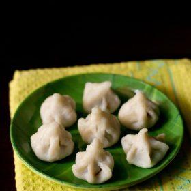 recette de modak, recette de modak ukadiche, recette de modak cuit à la vapeur, recette de modak