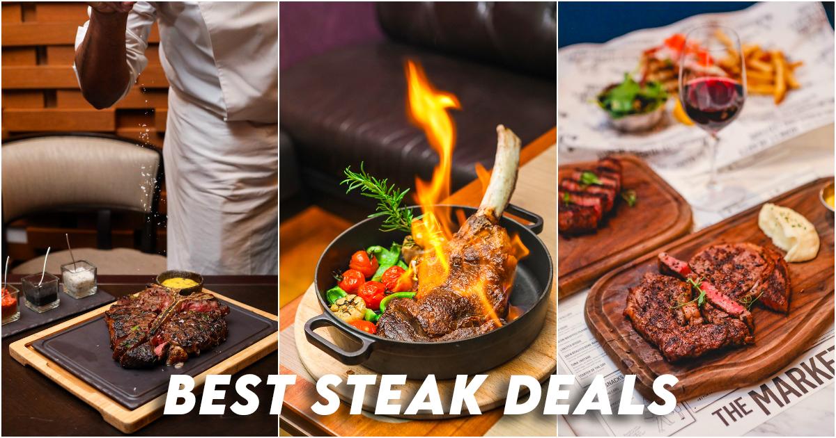 Offres de steak Singapour