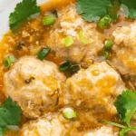 Xiu mai dans un plat
