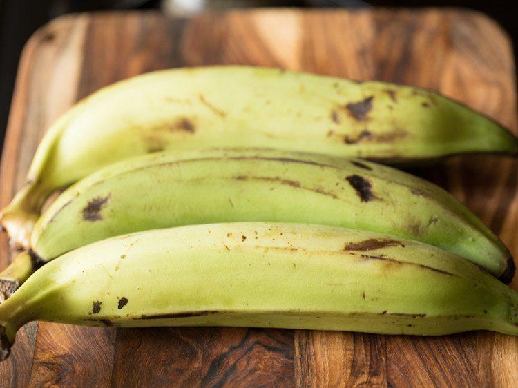 recette de chips de banane Kerala Nendran