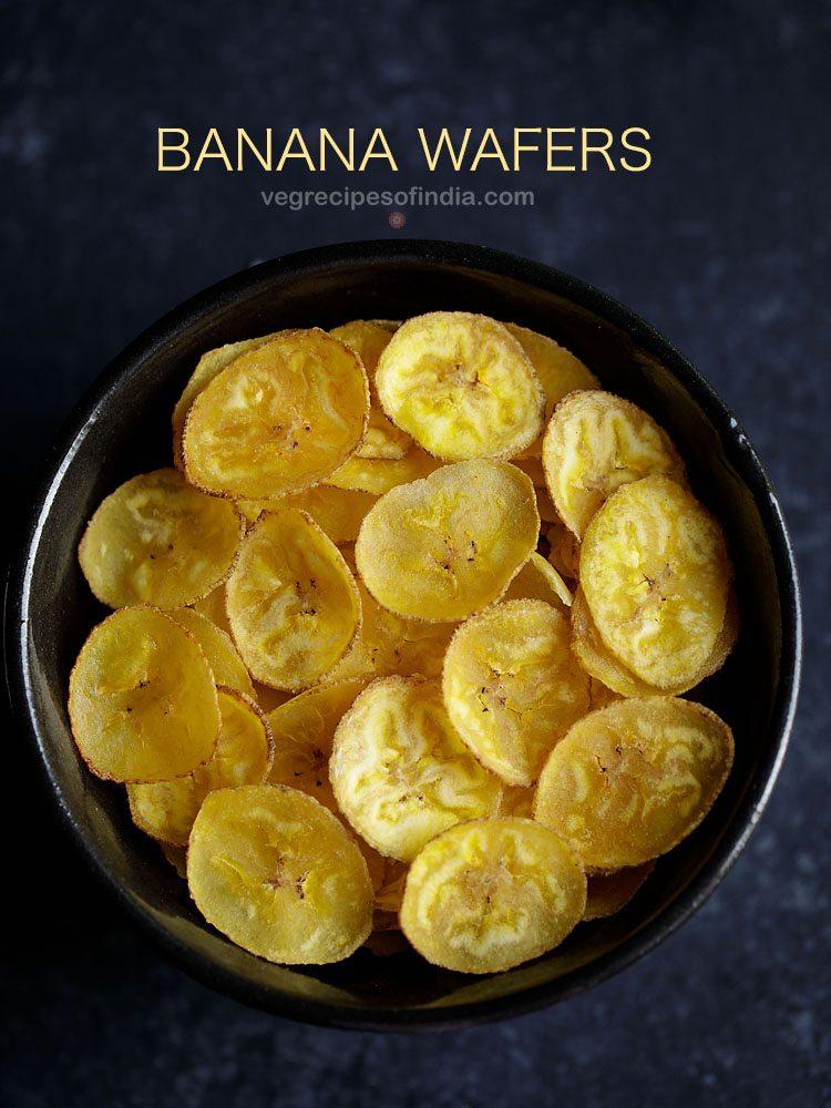 recette de gaufrettes à la banane