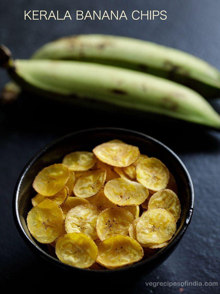 Recette de chips de banane du Kerala