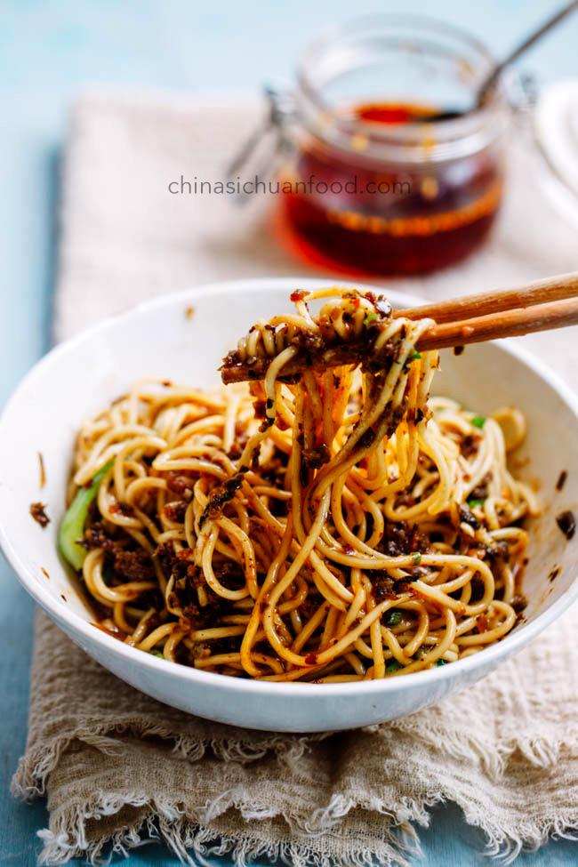 nouilles dan dan | chinasichuanfood.com