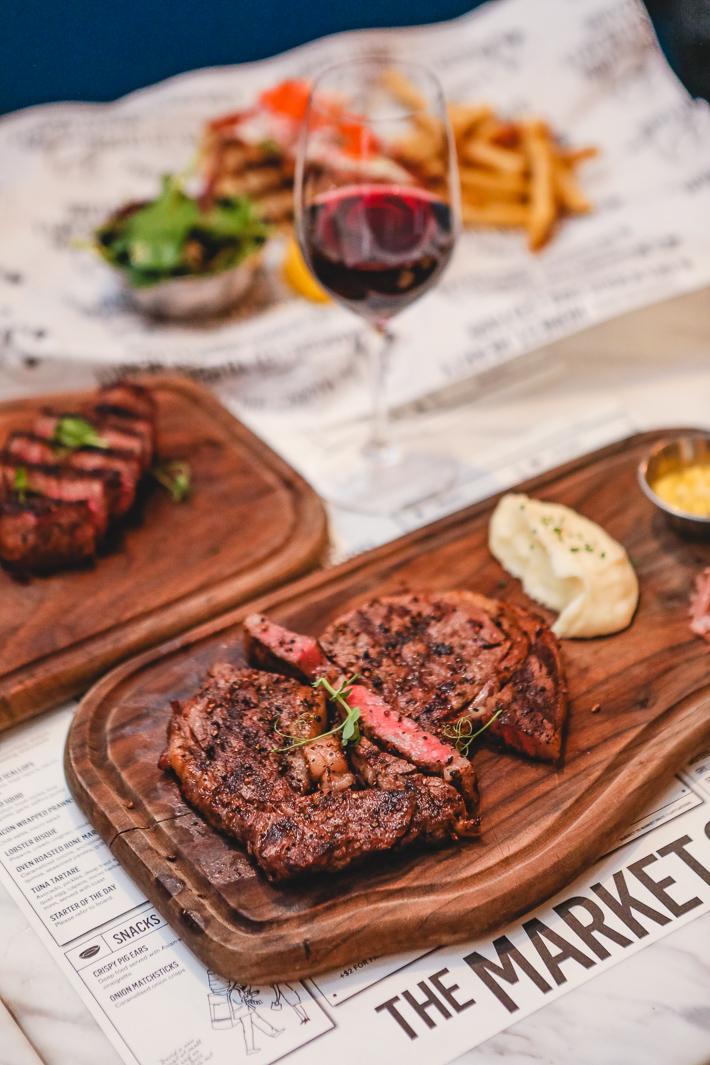 Steak de faux-filet The Market Grill