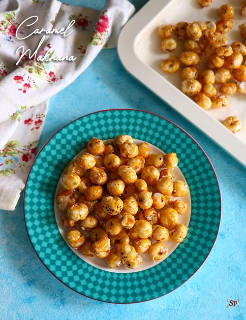 recette de makhana au caramel