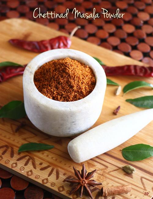 Recette de poudre de chettinad masala
