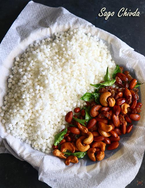 recette de sagou chivda