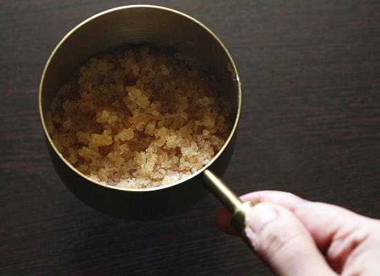 rincer le riz matta