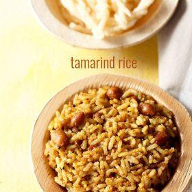 riz au tamarin, recette puliyodharai