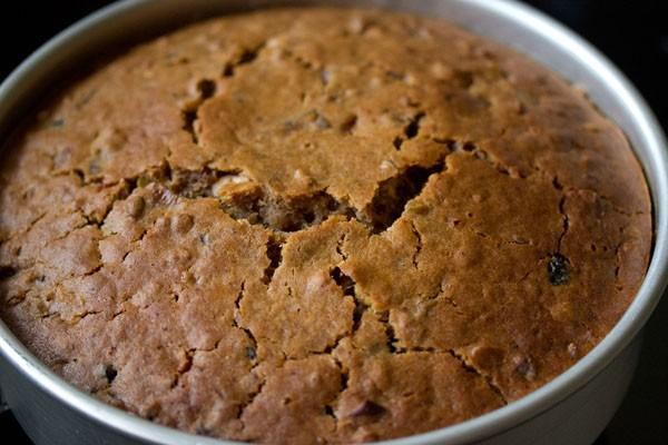 beau gâteau aux prunes du kerala doré