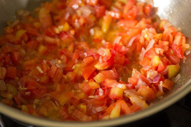 tomates mélangées