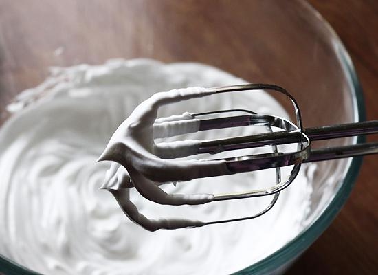 la crème doit rester immobile