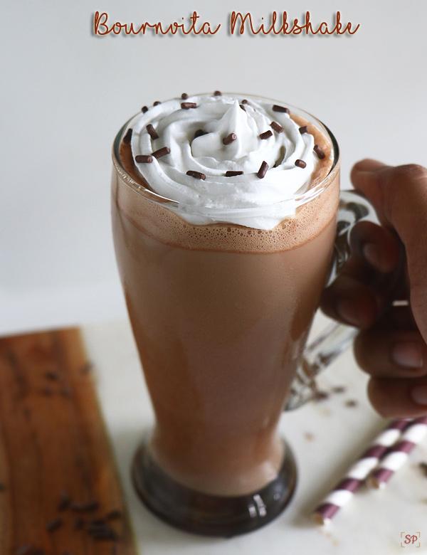 recette de milkshake bournvita