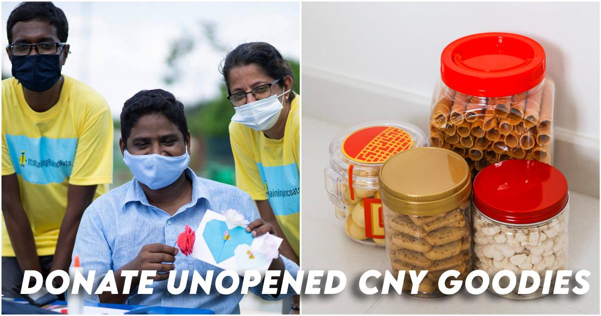 Donnez CNY Goodies aux travailleurs migrants