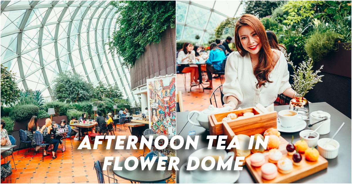 Thé de l'après-midi Fennel Cafe Flower Dome