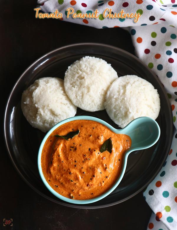 Recette de chutney aux tomates et aux arachides