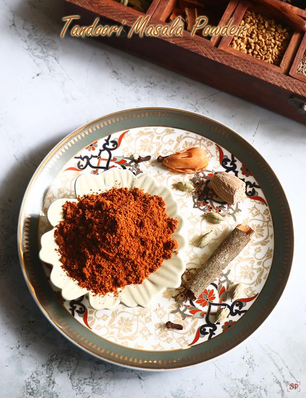 Recette de poudre de tandoori masala