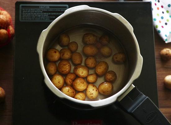Recette 65 pommes de terre cuire aloo