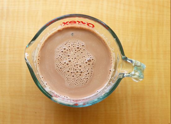 lait de bournvita prêt