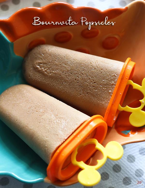 recette de popsicles bournvita
