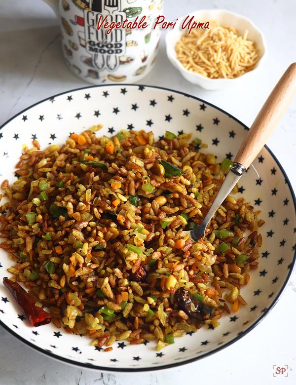 recette de légumes pori upma