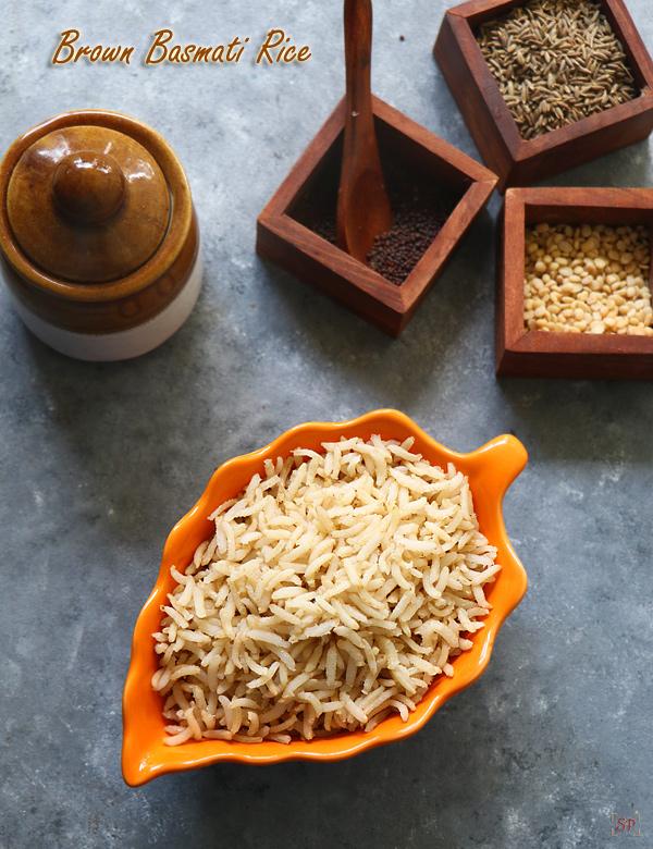 Recette de riz basmati brun instantané