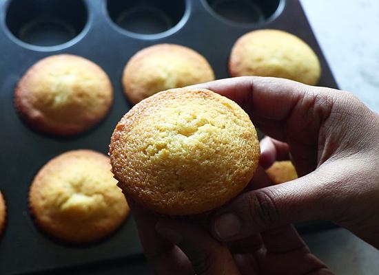 recette de muffins à l'orange refroidir puis conserver