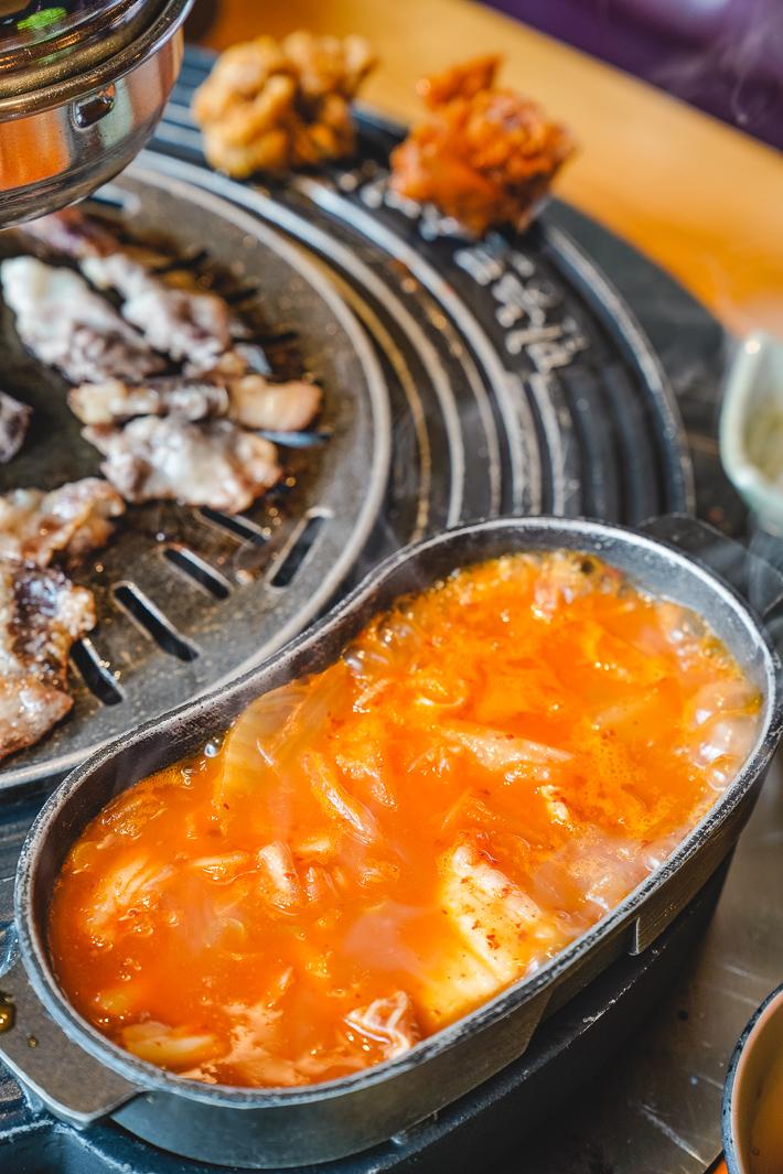 Sin Manbok Kimchi Jjigae