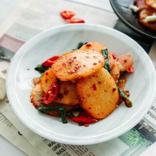 Pommes de terre sèches à la Sichuan   chinasichuanfood.com