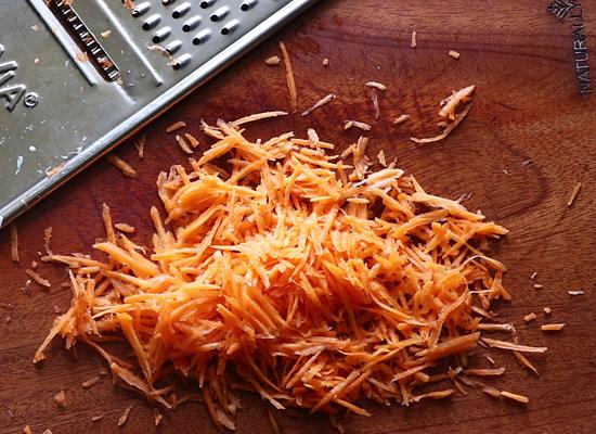 recette de salade de chou fines lanières de carottes