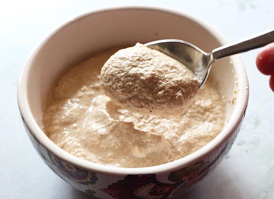 recette de gasagase payasam moudre en une pâte