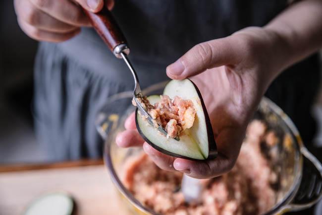 Aubergines farcies chinoises | chinasichuanfood.com
