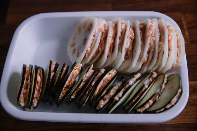 aubergines farcies | chinasichuanfood.com