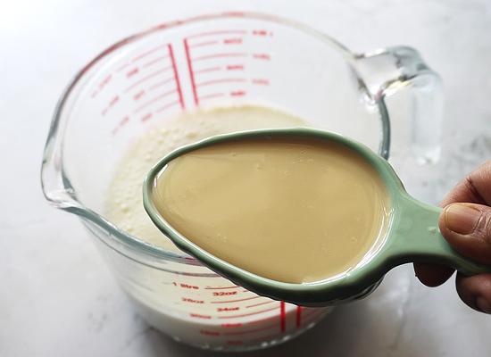 ajoutez-y du lait concentré