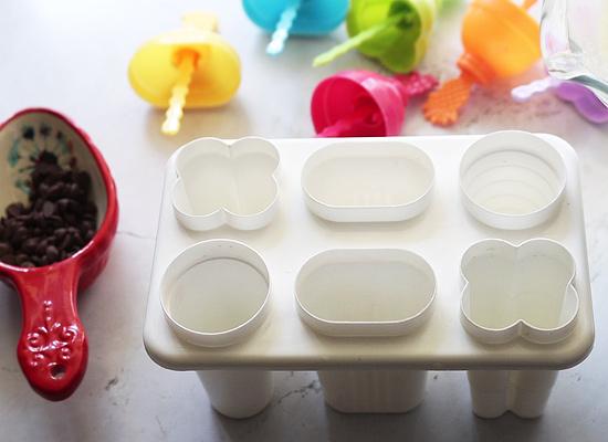recette de popsicles au lait concentré moule à popsicle