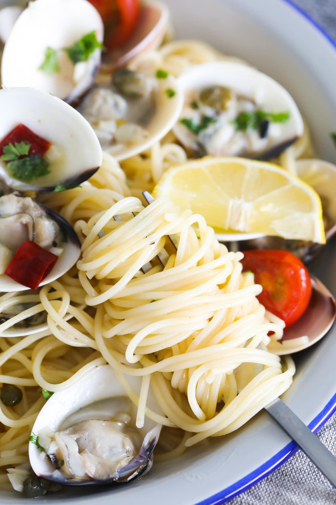 Recette de Capellini avec des ingrédients simples.