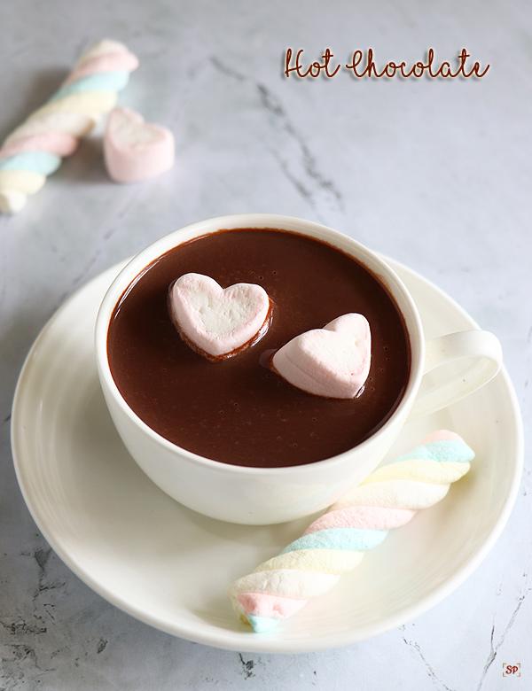 recette de chocolat chaud